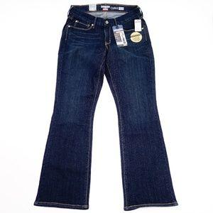 New Denizen Curvy Skinny Boot Jeans